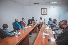Le ministre (a.i.) de l'intérieur et des collectivités territoriales rencontre les présidents des associations départementales des maires