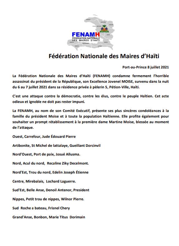You are currently viewing Assasinat du Président de la République d'Haïti.